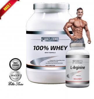 Balíček Akční 100% WHEY 1,8 Kg + L-Arginine
