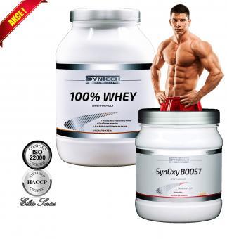 Akční Balíček 100 % Whey + SynOxy BOOST